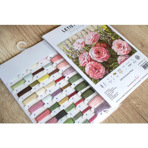 Leti Stitch Borduurpakket Summer Bloom - Leti Stitch