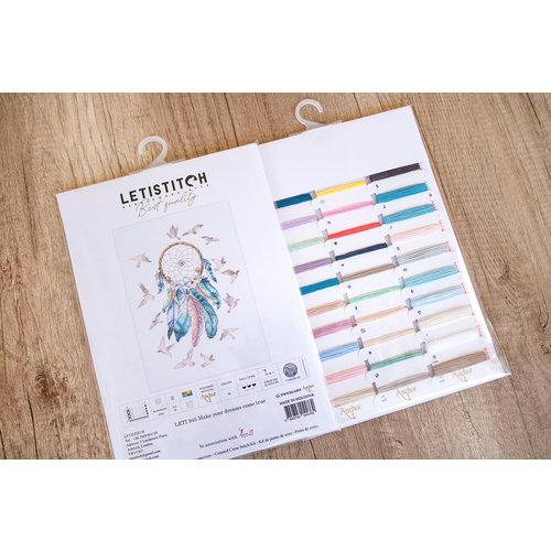 Leti Stitch Borduurpakket Make your Dreams Come True - Leti Stitch