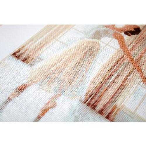 Leti Stitch Borduurpakket Ballerina - Leti Stitch