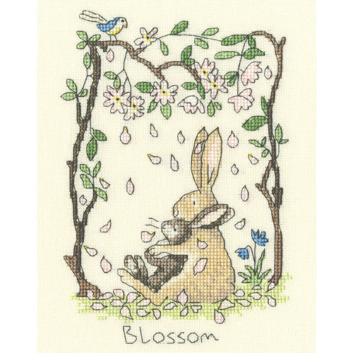 Bothy Threads Borduurpakket Anita Jeram - Blossom - Bothy Threads