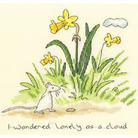 Borduurpakket Anita Jeram - Lonely as a cloud - Bothy Threads