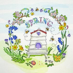 Bothy Threads Borduurpakket Amanda Loverseed - Spring Time - Bothy Threads