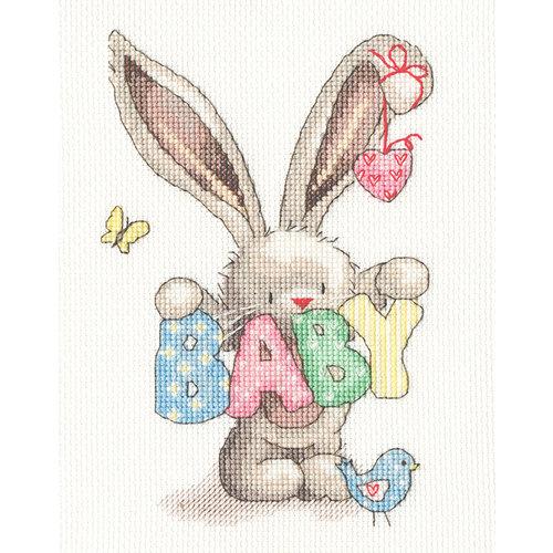 Bothy Threads Borduurpakket Bebunni - Baby - Bothy Threads