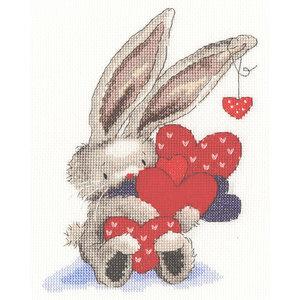 Bothy Threads Borduurpakket Bebunni - Whole lot of love - Bothy Threads