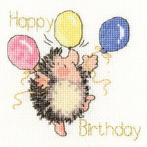 Bothy Threads Borduurpakket Margaret Sherry - Birthday Balloons - Bothy Threads