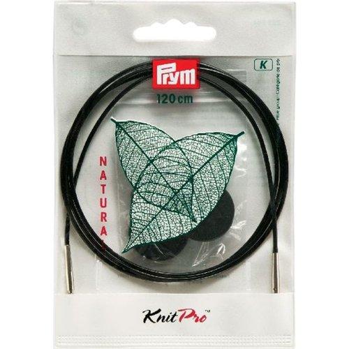 Prym Rondbreinaalden Kunststofdraad Kabel - 120 cm lengte