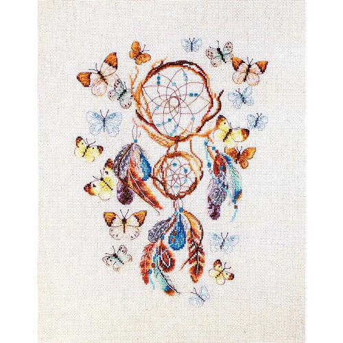 Leti Stitch Borduurpakket Keep Your Dreams Safe - Leti Stitch