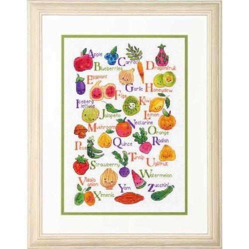 Dimensions Borduurpakket Fruits & Veggies - DIMENSIONS