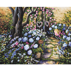Leti Stitch Borduurpakket Wonderland Garden - Leti-Stitch