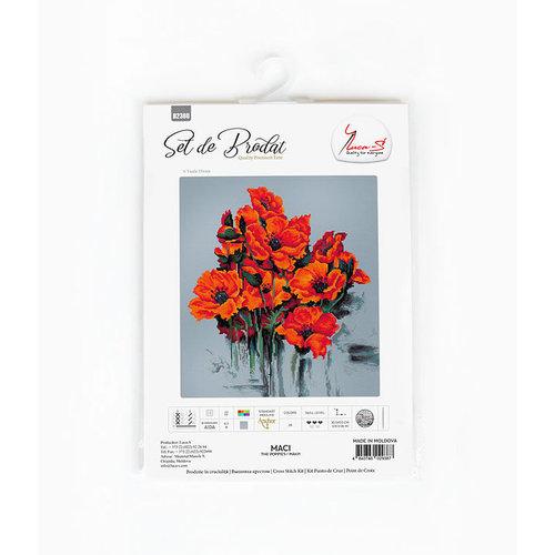 Luca-S Borduurpakket The Poppies - Luca-S