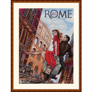 Merejka Borduurpakket Visit Rome - Merejka