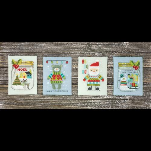 Tiny Modernist Borduurpatroon Scandi Christmas Set - Tiny Modernist