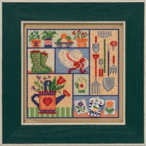 Mill Hill Borduurpakket Buttons Beads Spring Series - Garden Sampler - Mill Hill