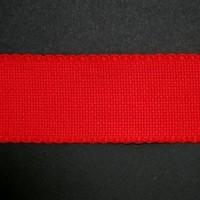 Aidaband 5 cm - rood