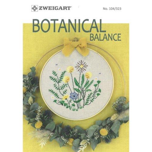 Zweigart Borduurboekje Zweigart - Botanical Balance