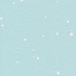 Zweigart Zweigart Murano Splash Mintgroen/Wit - 32 ct - 50 x 70 cm