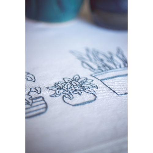 Vervaco Tafelkleed kit Huiskamerplanten
