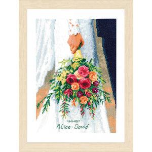 Vervaco Telpakket kit Bruidsboeket