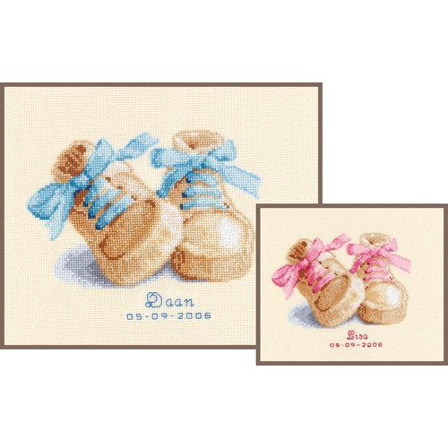 Vervaco Telpakket kit Babyschoentjes