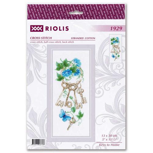RIOLIS Borduurpakket Keys to Home - RIOLIS