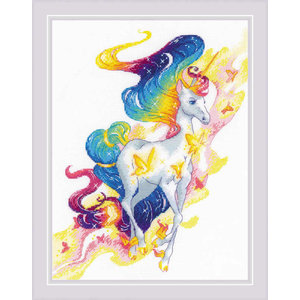 RIOLIS Borduurpakket Fairy Unicorn - RIOLIS