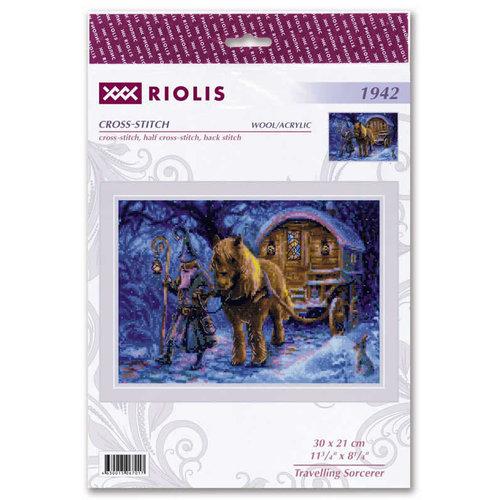 RIOLIS Borduurpakket Travelling Sorcerer - RIOLIS
