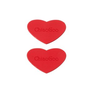 ChiaoGoo Harten Rubber / Rubber Grippers (set van 2)