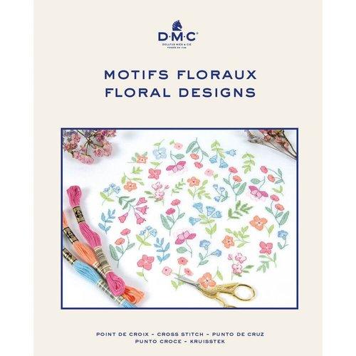 DMC Kruissteekboek Floral Designs