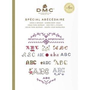 DMC Kruissteekboekje Ideeën om te borduren - Alfabet