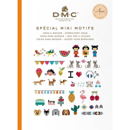 DMC Kruissteekboekje Ideeën om te borduren - Mini Patronen