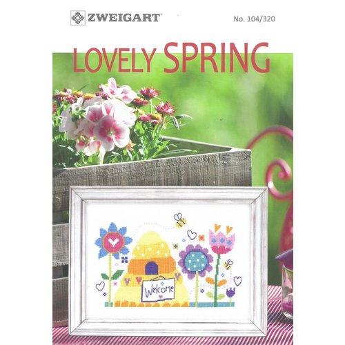 Zweigart Borduurboekje Zweigart - Lovely Spring