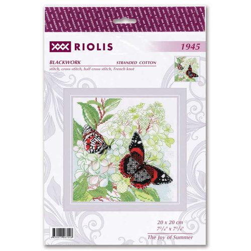 RIOLIS Borduurpakket The Joy of Summer - RIOLIS