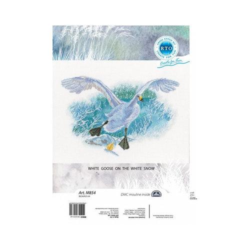 RTO Borduurpakket White Goose in the White Snow - RTO