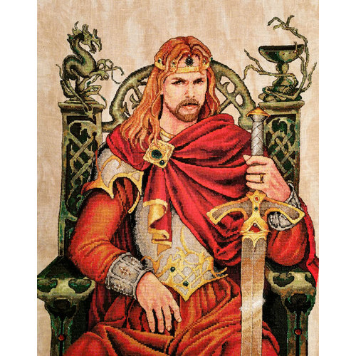 Nimue Borduurpatroon Arthur - Nimue