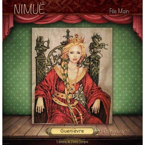 Nimue Mini Kit Guenièvre - Nimue (patroon/stof/spec.mat)