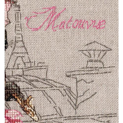 Nimue Borduurpatroon La Belle Epoque, Matouvue - Nimue