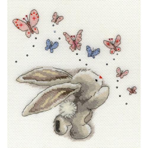 Bothy Threads Borduurpakket Bebunni - Butterflies - Bothy Threads