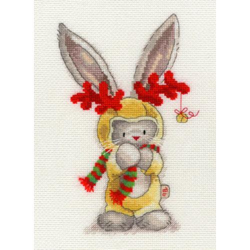 Bothy Threads Borduurpakket Bebunni - Rudolph - Bothy Threads
