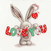 Borduurpakket Bebunni - Love You - Bothy Threads