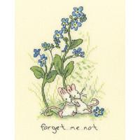 Borduurpakket Anita Jeram - Forget Me Not - Bothy Threads