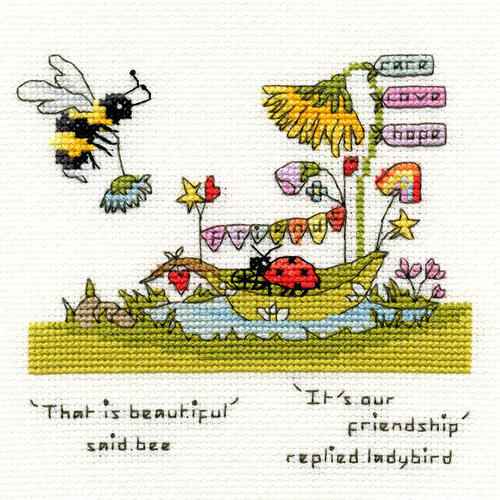 Bothy Threads Borduurpakket Eleanor Teasdale - Beautiful Friendship - Bothy Threads