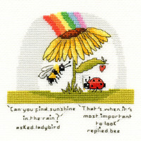 Borduurpakket Eleanor Teasdale - Finding Sunshine - Bothy Threads