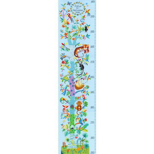 Bothy Threads Borduurpakket Emily Johnston - Tropical Height Chart - Bothy Threads