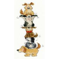 Borduurpakket Margaret Sherry - Top Dog - Bothy Threads