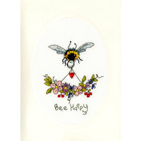 Borduurpakket Eleanor Teasdale - Bee Happy - Bothy Threads