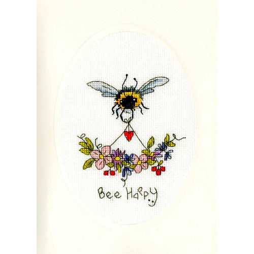 Bothy Threads Borduurpakket Eleanor Teasdale - Bee Happy - Bothy Threads