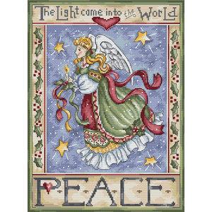 Leti Stitch Borduurpakket Peace Angel - Leti Stitch