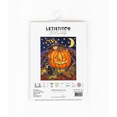 Leti Stitch Borduurpakket Pumpkin Girl - Leti Stitch