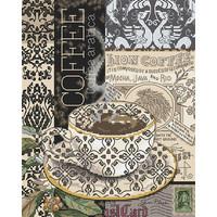 Borduurpakket Lion Coffee B - Leti Stitch