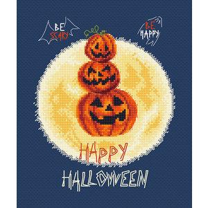 Leti Stitch Borduurpakket Pumpkin's Party - Leti Stitch